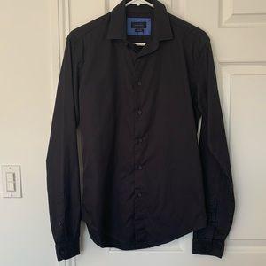 Men's Zara long sleeve button front shirt
